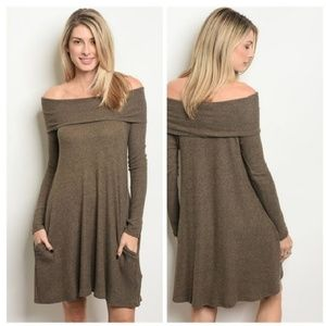 Dresses & Skirts - COMING SOON New sweater knit tunic dress